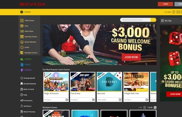 casino brands for US players bovada