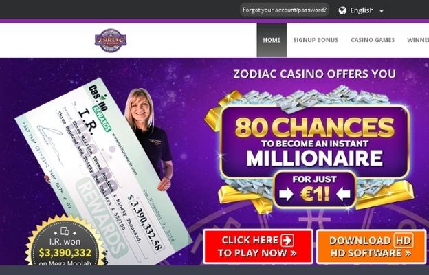 real money online casinos zodiac